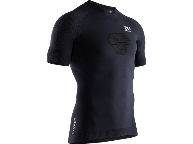 X-Bionic Invent 4.0 Run Speed T-shirt Homme, opal black/arctic white
